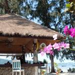 コーラル島のビーチバー