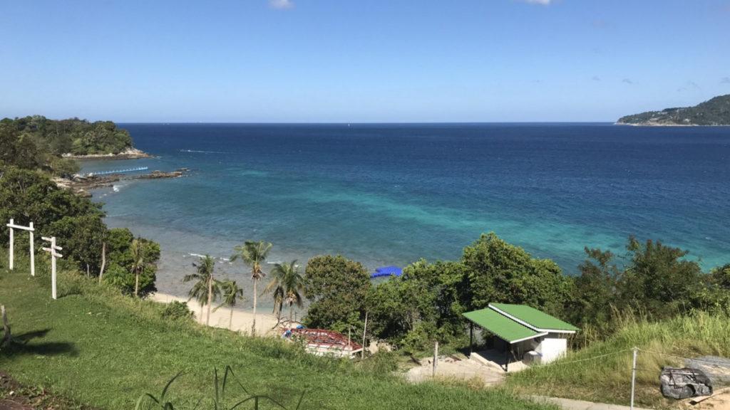 プーケットの眺めが良いビーチ