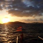 ピピ島の夕陽2