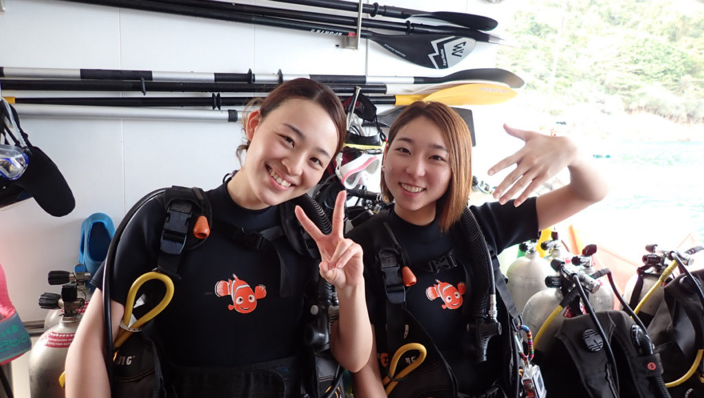 2020/1/21 ラチャヤイ島の体験ダイビング2