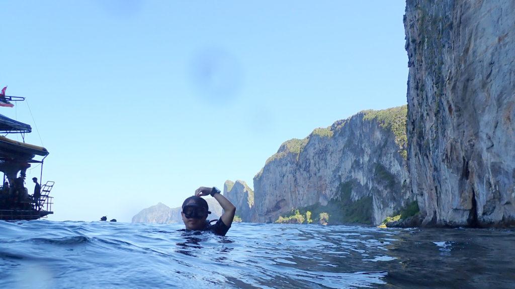 20200125 ピピ島の水面