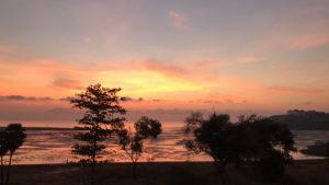 プーケットのパンワ岬の朝焼け