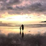 パトンビーチの夕陽4