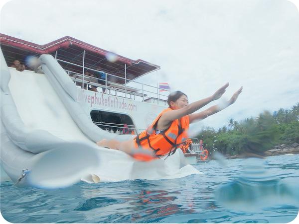 プーケットで体験ダイビングと海遊び