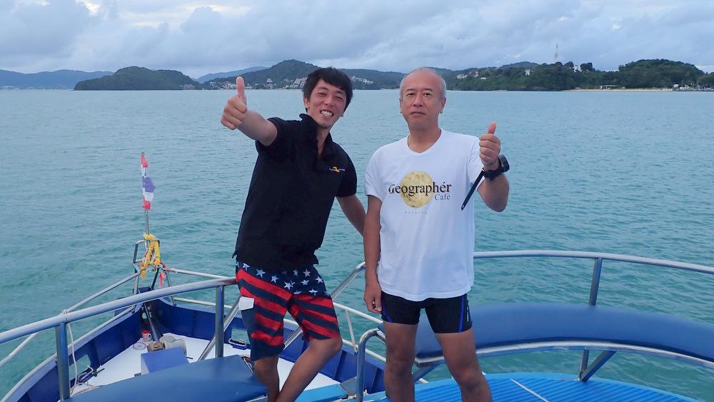 2020/09/26 ピピ島ツアーの集合写真