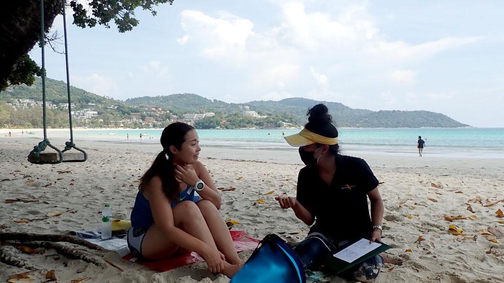 カタビーチ アドバンス講習