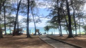 ナイハーンビーチの風景