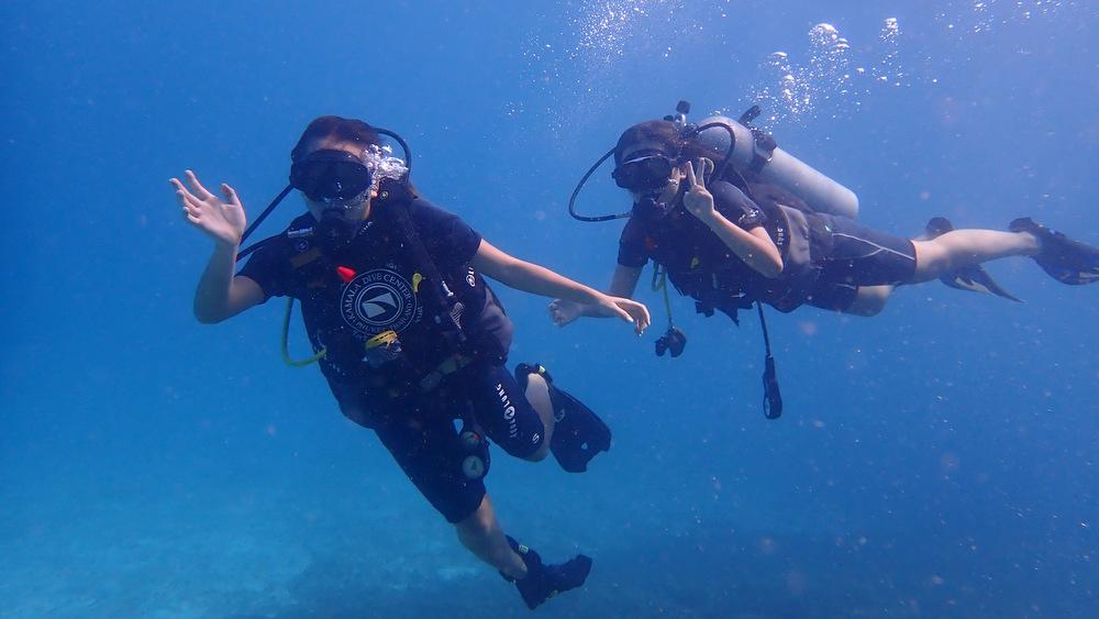 ラチャノイ島の体験ダイビング