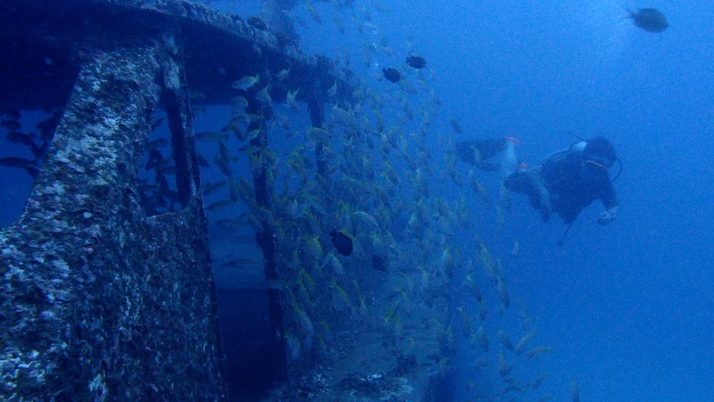 ラチャヤイ島の沈船